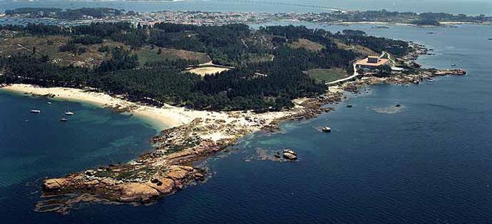 Foto playa Area da Isla.