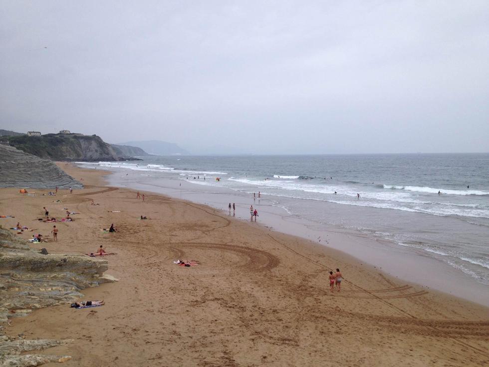 Foto playa A Meda.