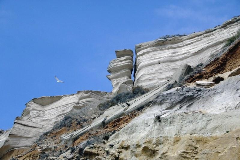 Foto playa Hierbabuena. Acantilados de Barbate