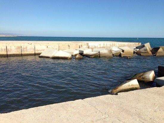 Foto playa Platja de la Barca Maria.