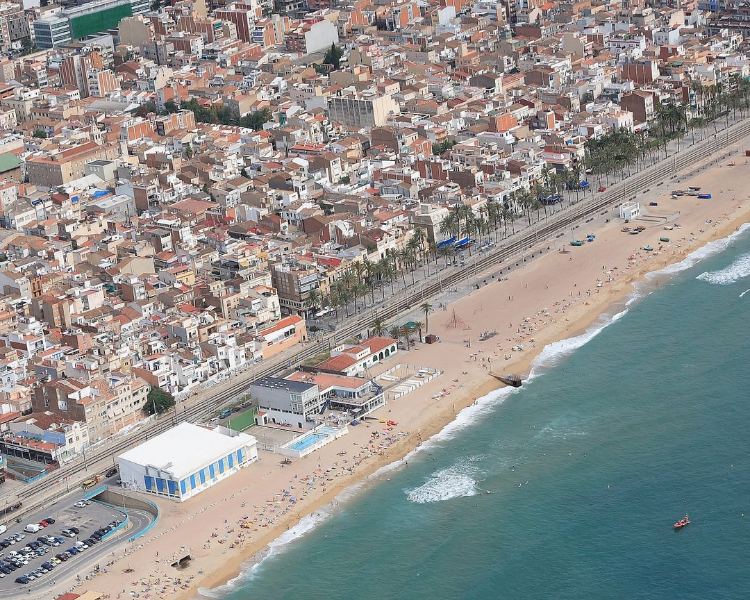 Foto playa Platja del Pont d' en Botifarreta.