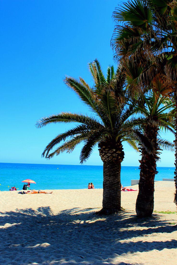 Foto playa Platja dels Patins de Vela.