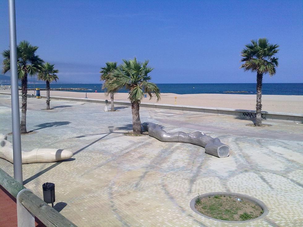 Foto playa El Fórum.