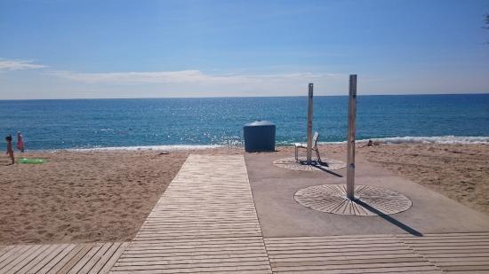Foto playa L'Estació.