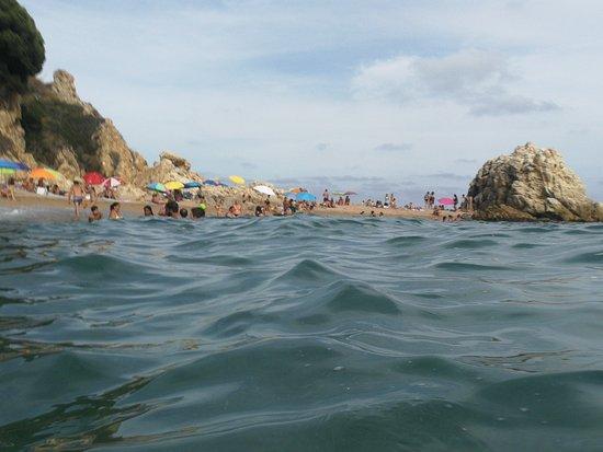 Foto playa La Roca Grossa.