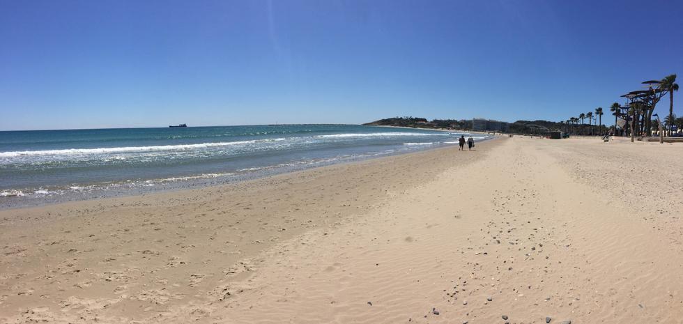 Foto playa Platja de la Pineda.