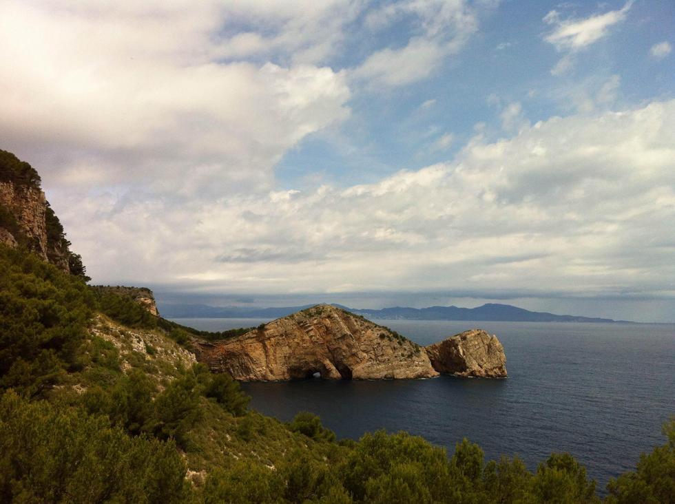 Foto playa Port d'Esclanyà / Calas de Fornells.