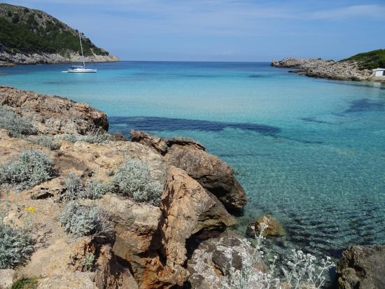Foto playa Cala S´Agulla.