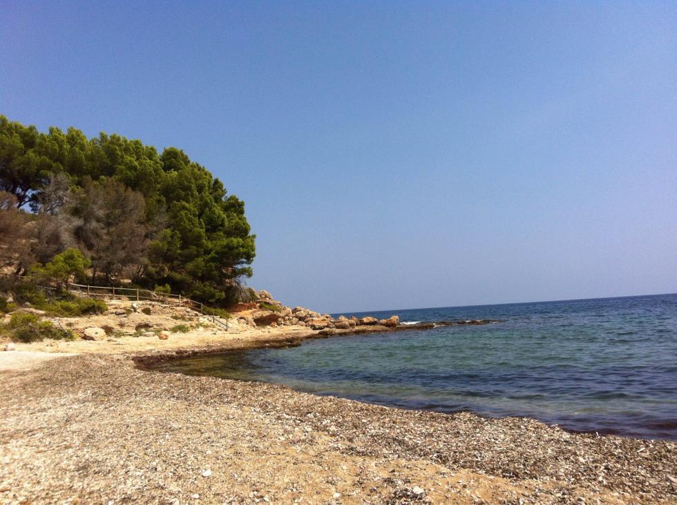 Foto playa Cala del Pi.