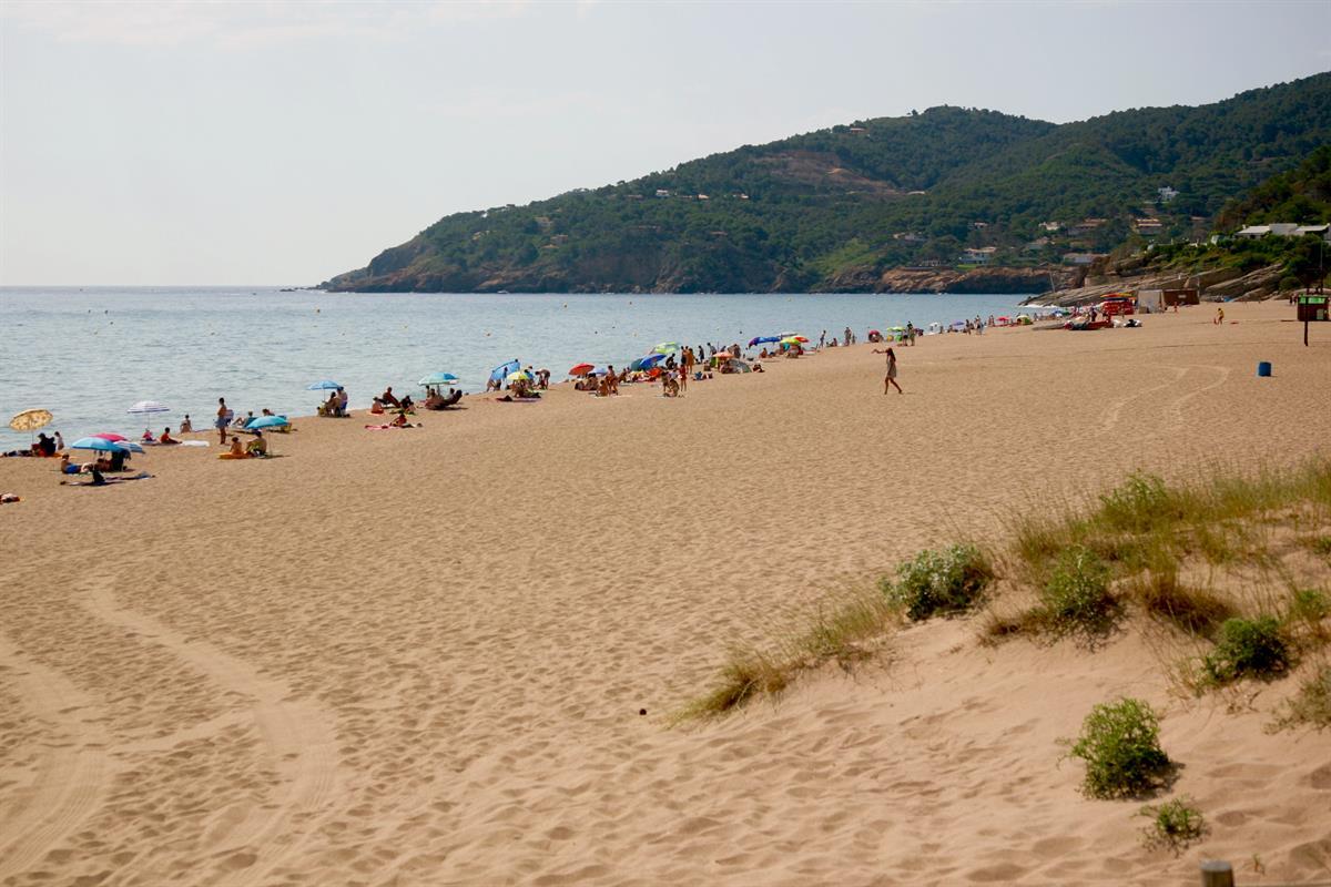 Foto playa L'Arola.