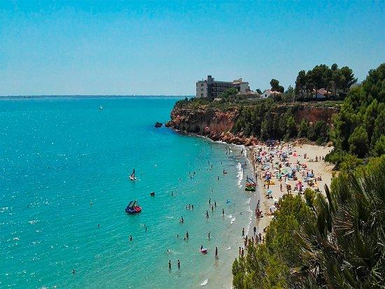 Foto playa Cap Roig.