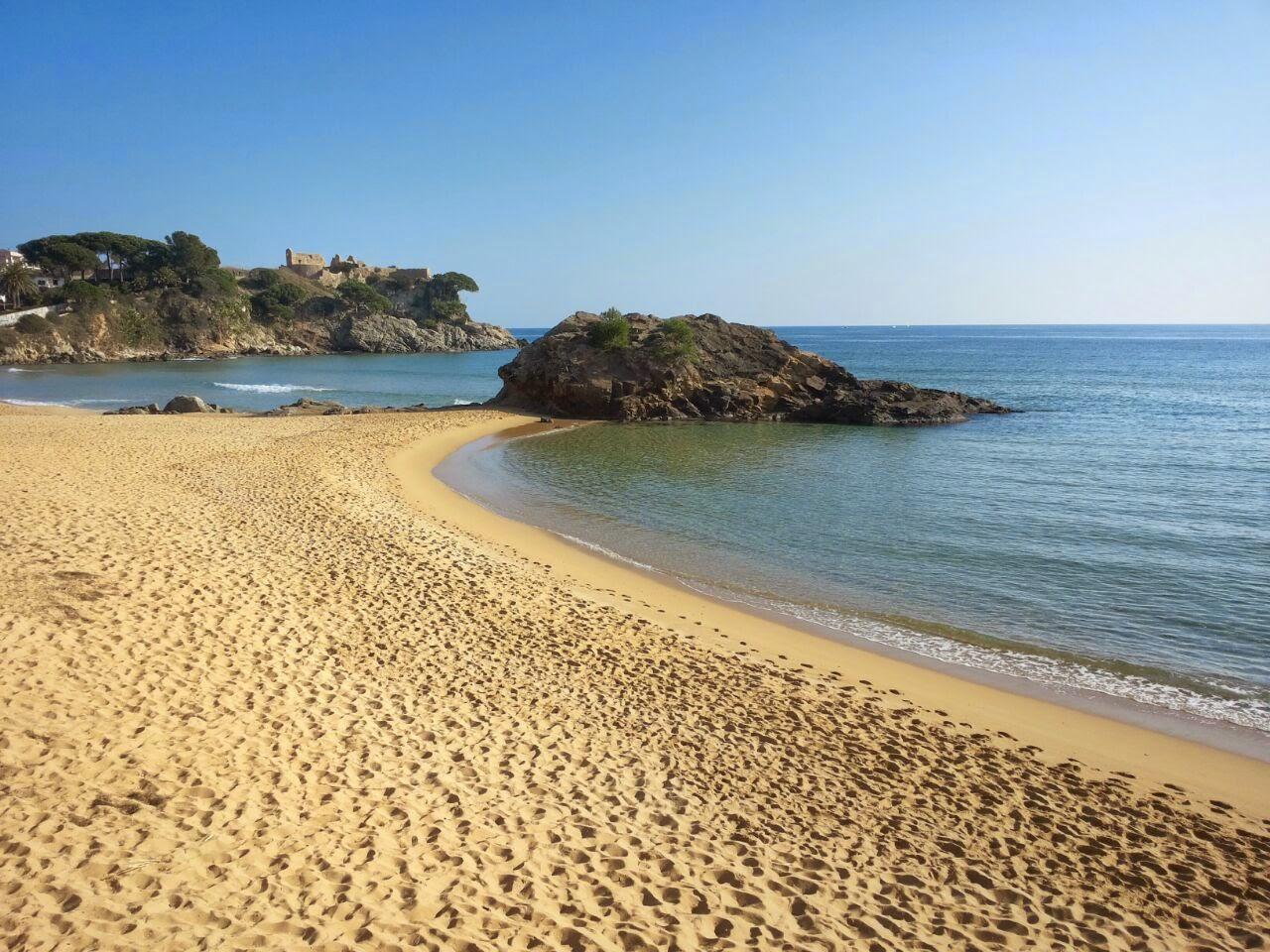 Foto playa Cala Sant Roc.
