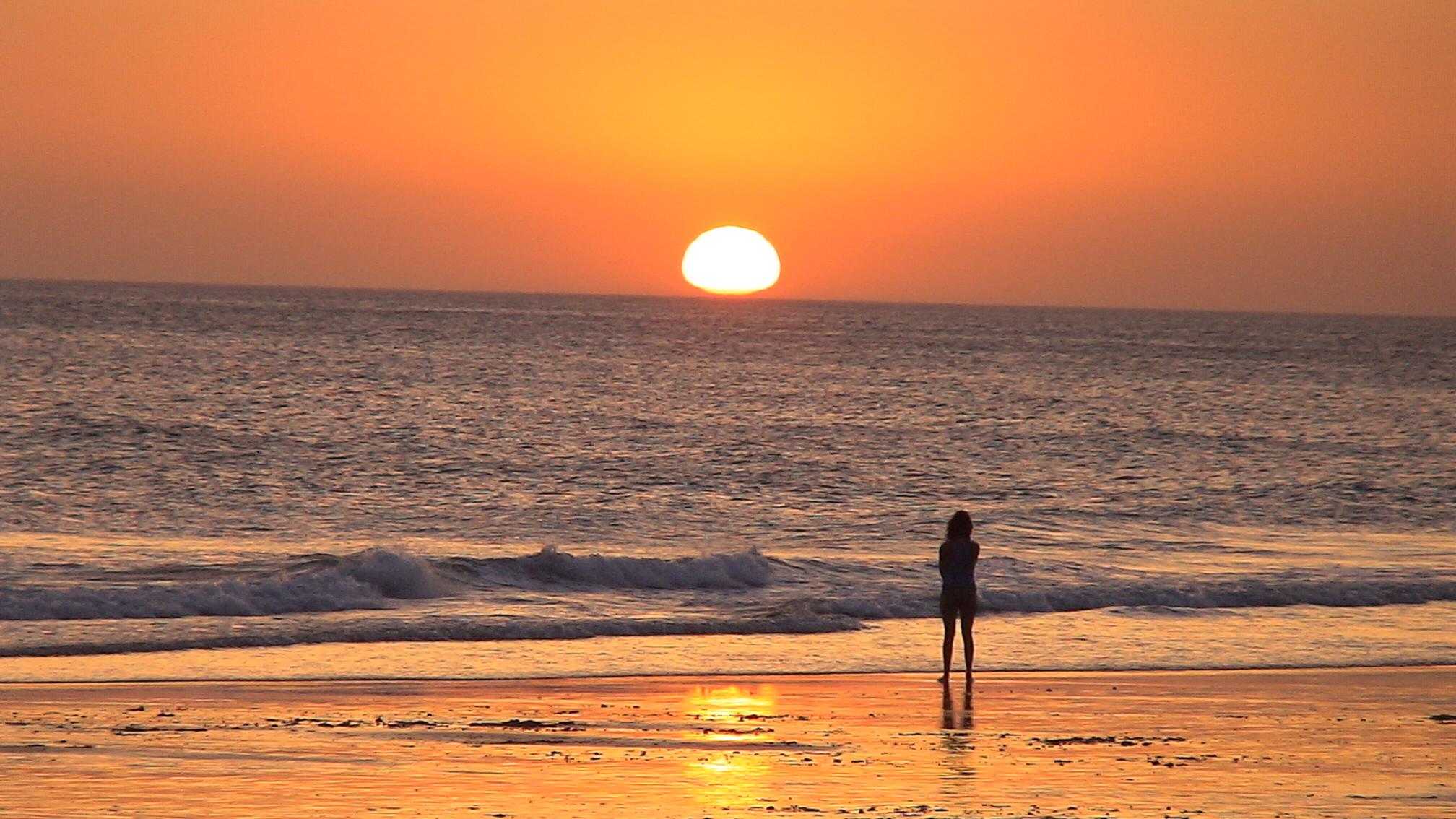 Foto playa Castilnovo. hasta mañana