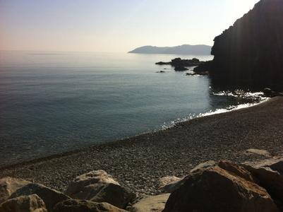 Foto playa El Cau / Cala dels Gens.