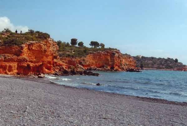 Foto playa Cala María.