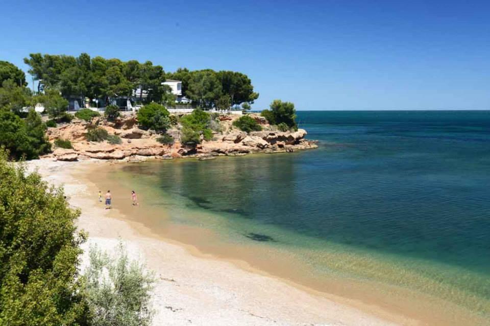 Foto playa Els Capellans / Cala Montero.
