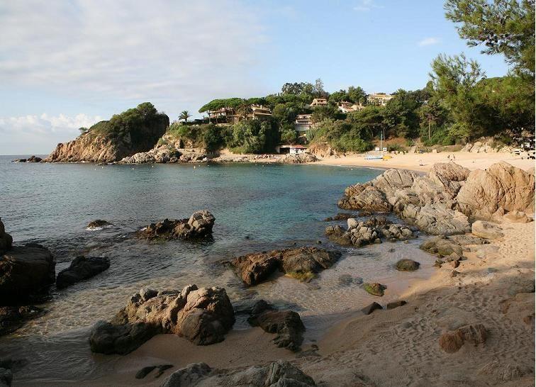 Foto playa Cala Vidre.