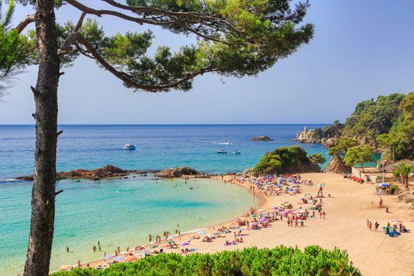 Foto playa Ribes Altes.