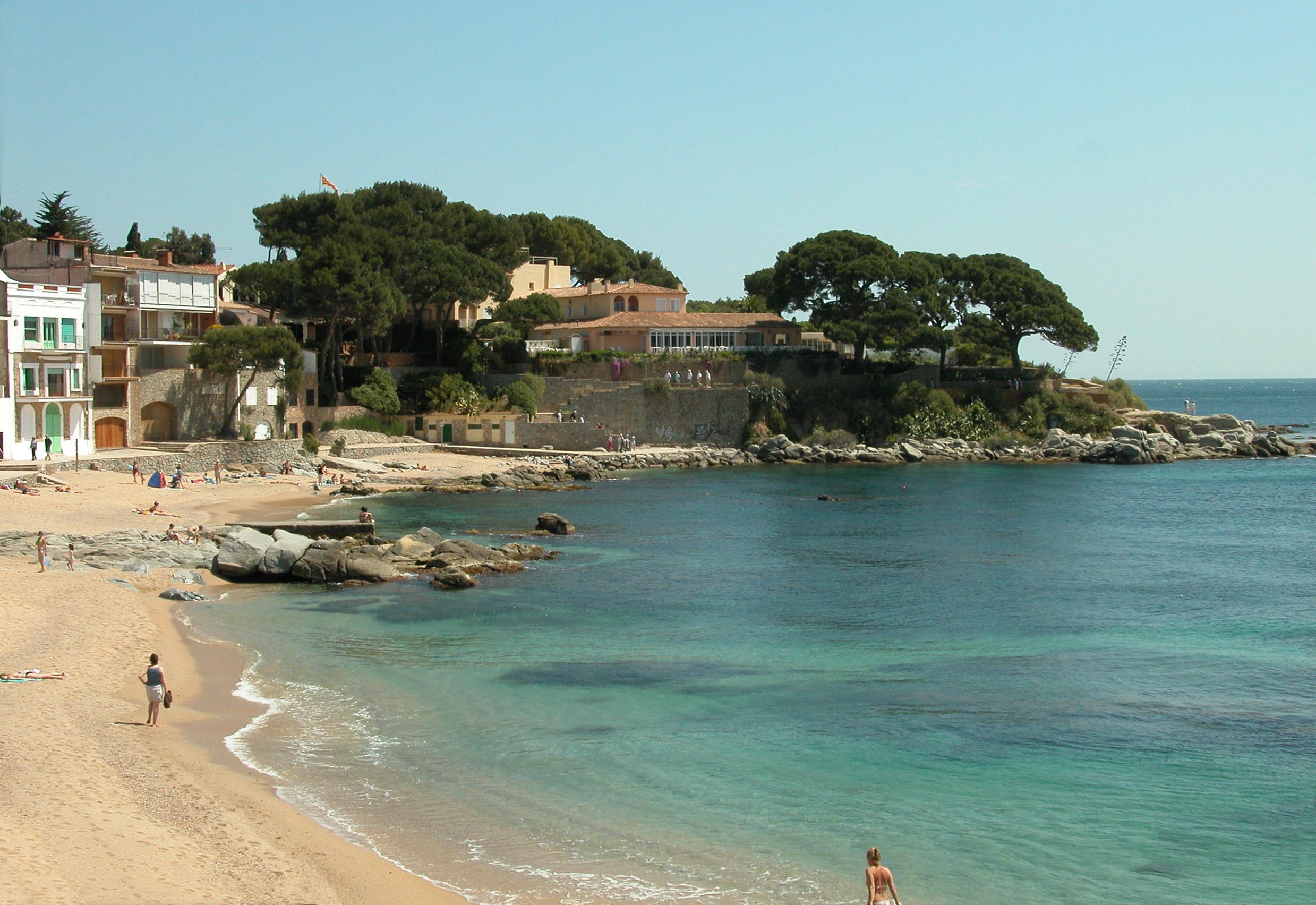 Foto playa Port Olivet.