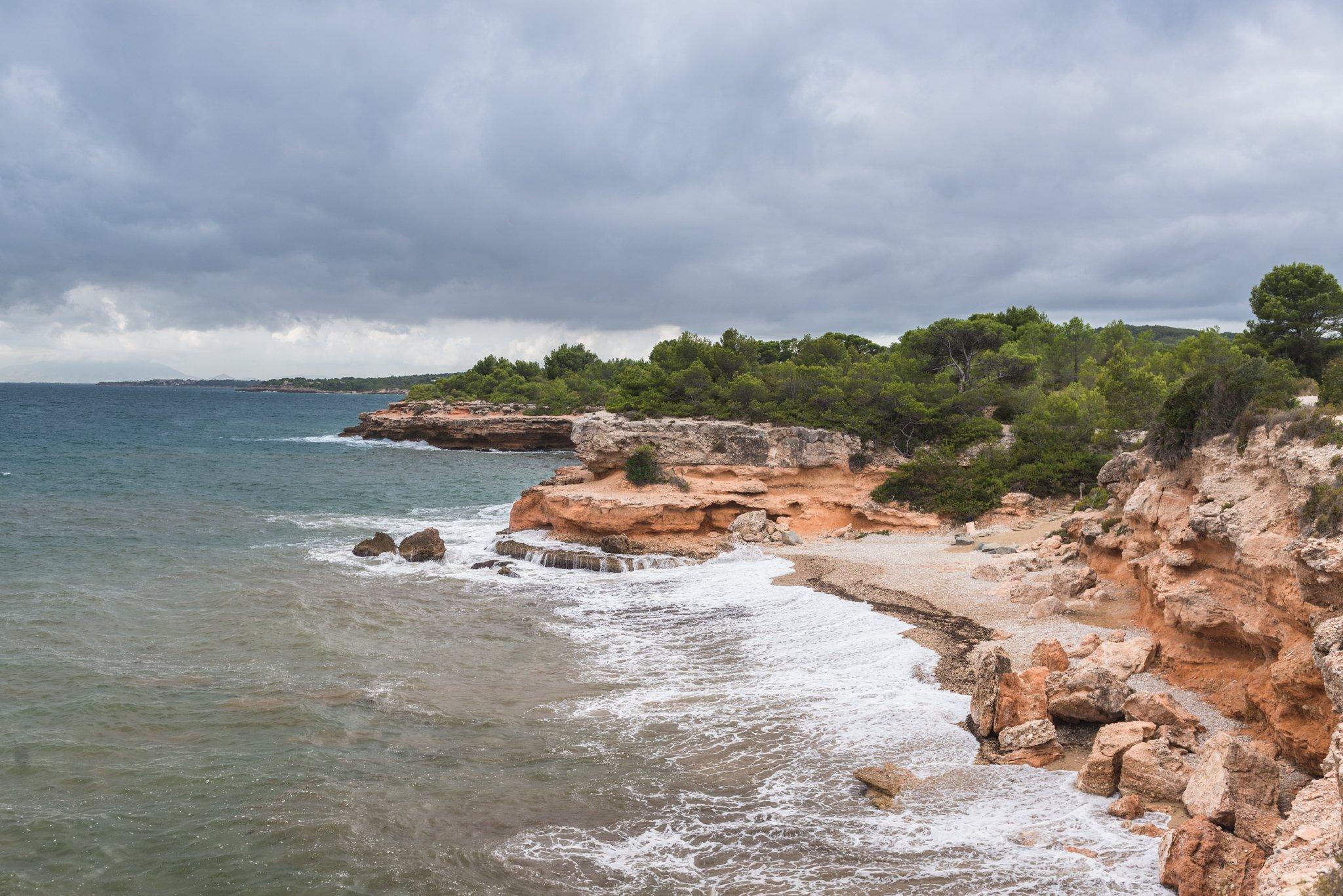 Playa Cala Santes Creus