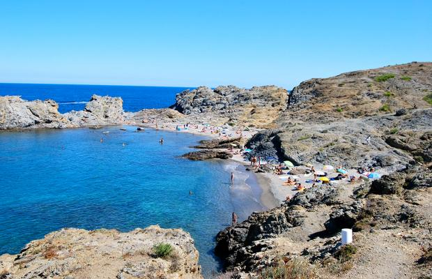Foto playa Cala Leña.