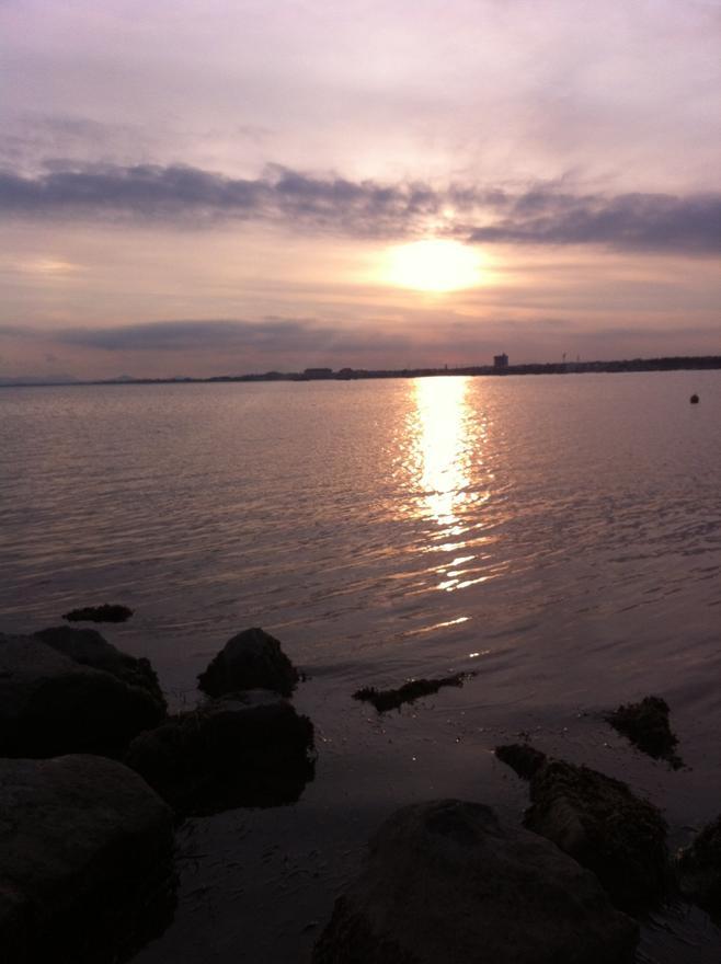 Foto playa Los Narejos.