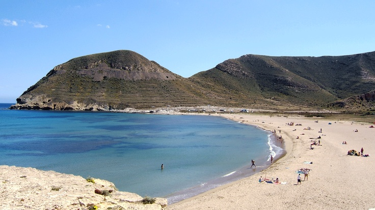 Foto playa El Espejo.