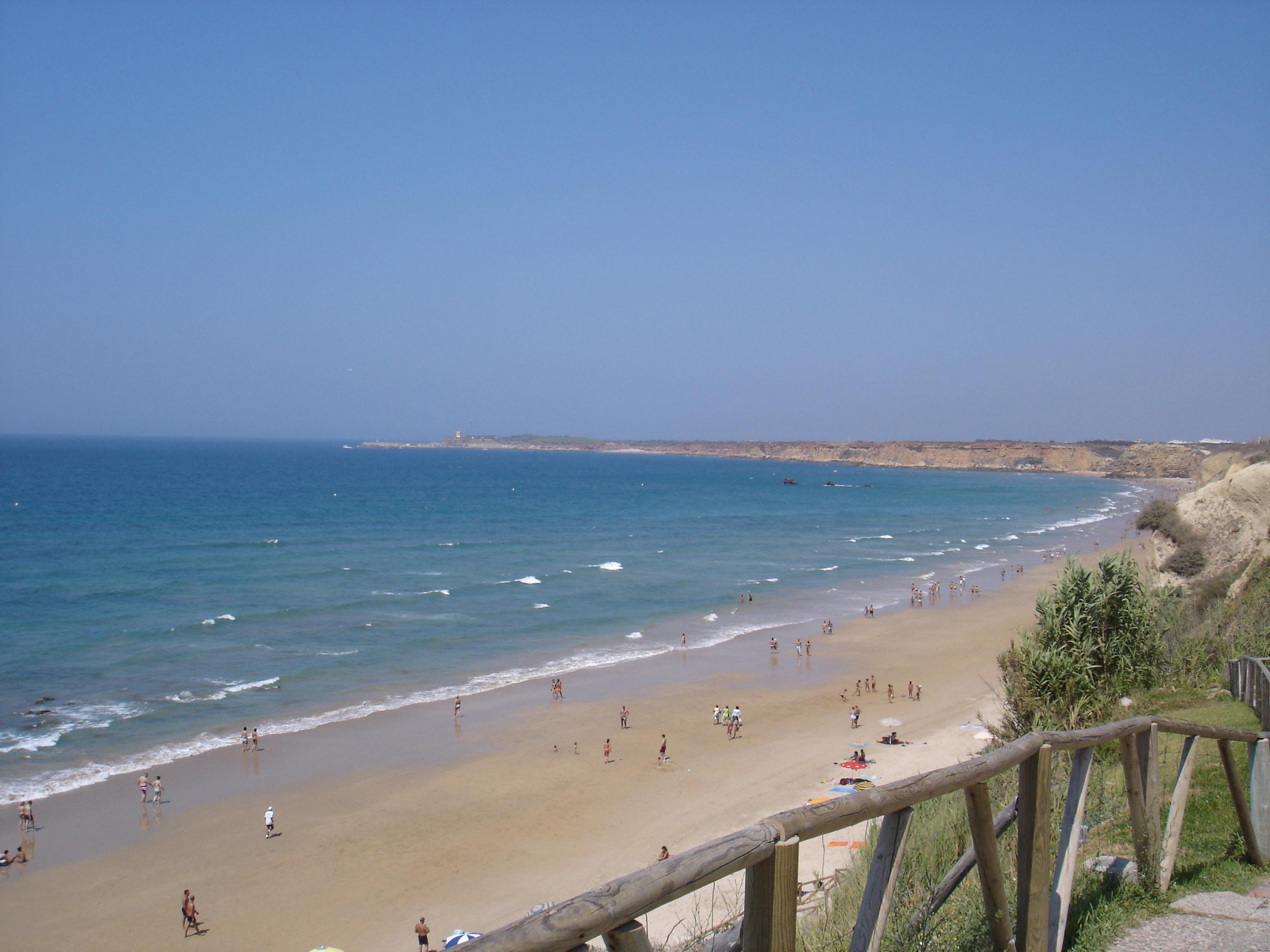 Foto playa Fuente del Gallo. Conil de la Frontera - El Roqueo