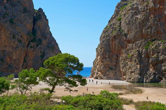 Foto playa Siscal.