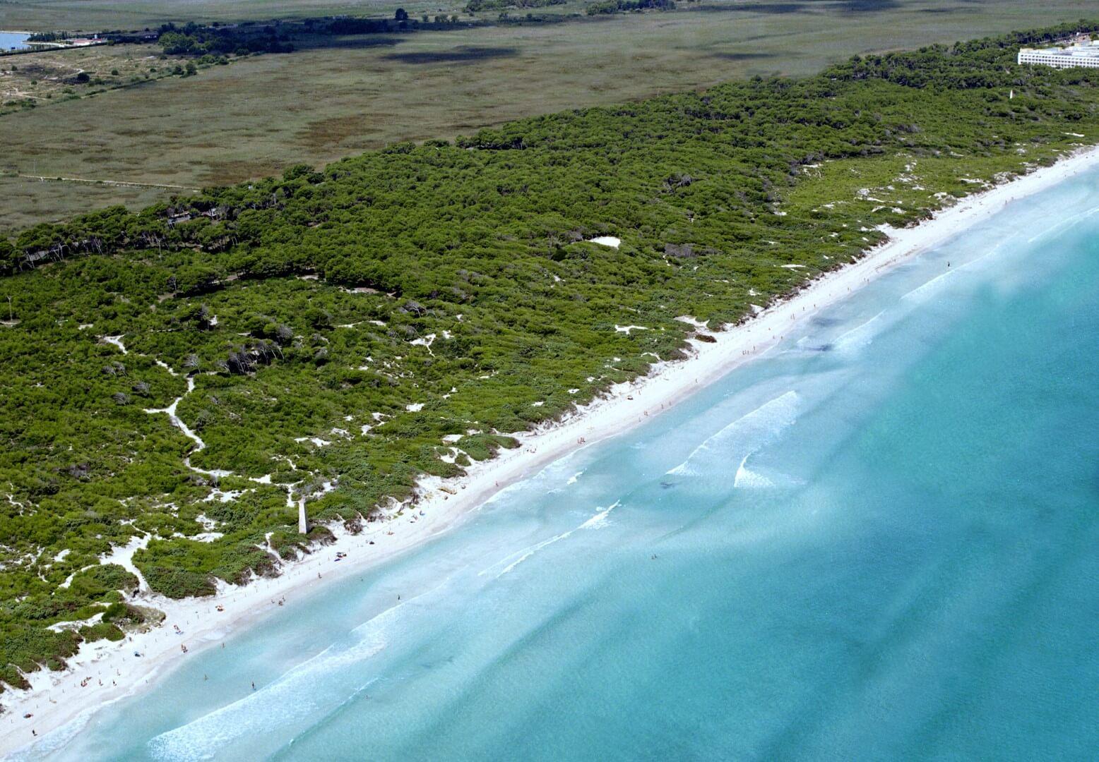 Foto playa Los Hierros.