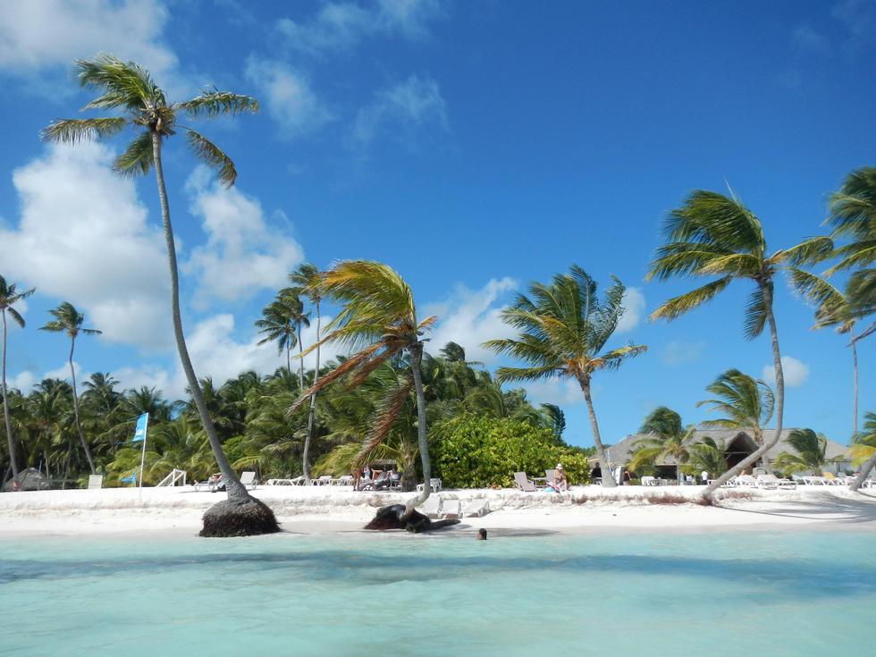 Foto playa Punta Blanca.