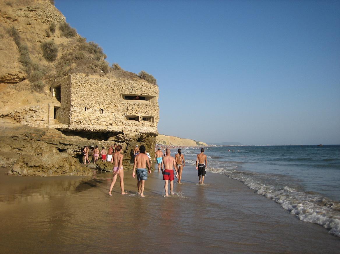 Foto playa Fuente del Gallo. conil de la frontera - fuente del gallo, josetxo19