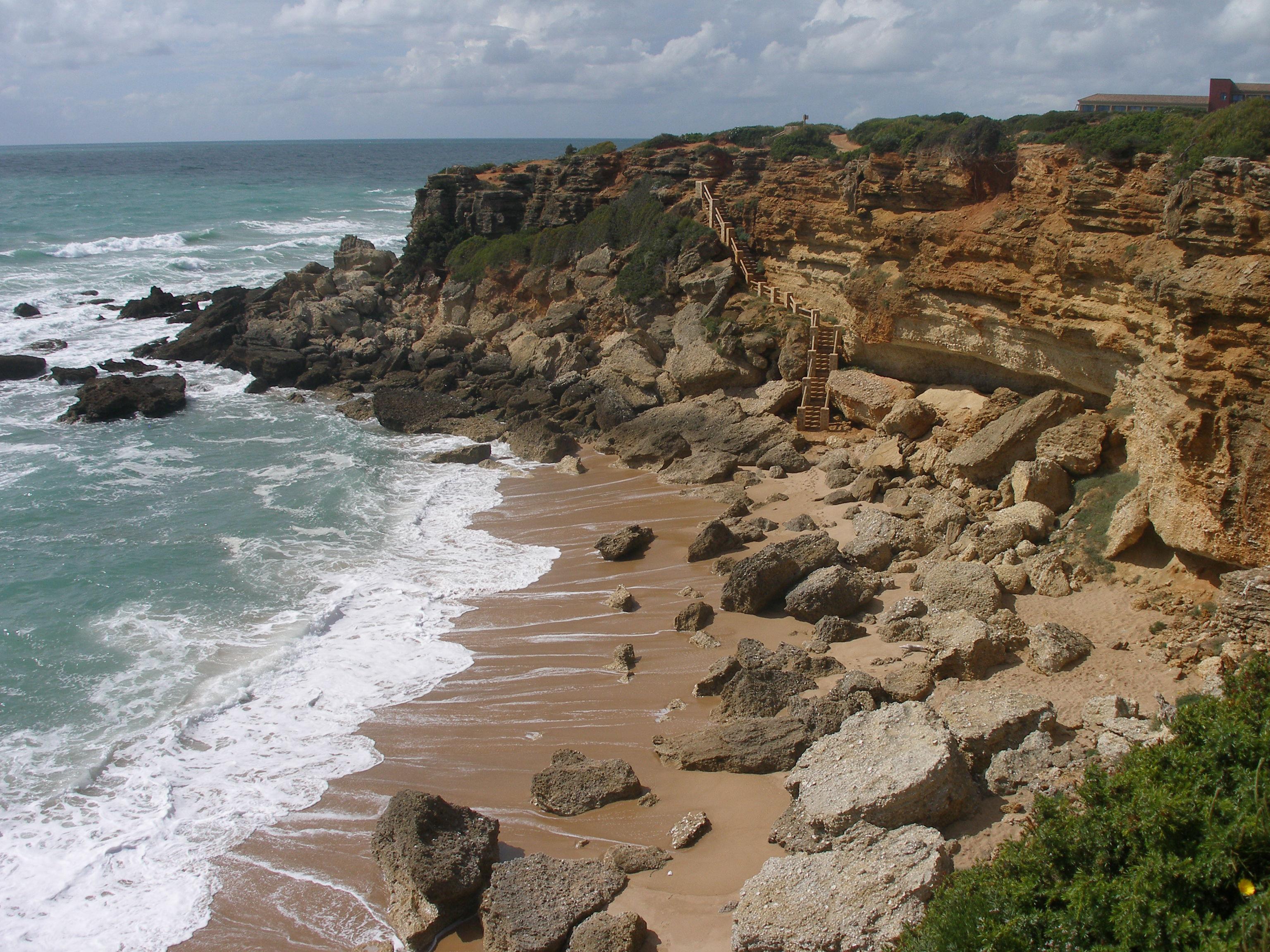 Foto playa Calas del Quinto y Camacho. calas de conil
