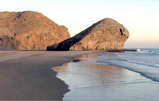 Foto playa El Tarajal.