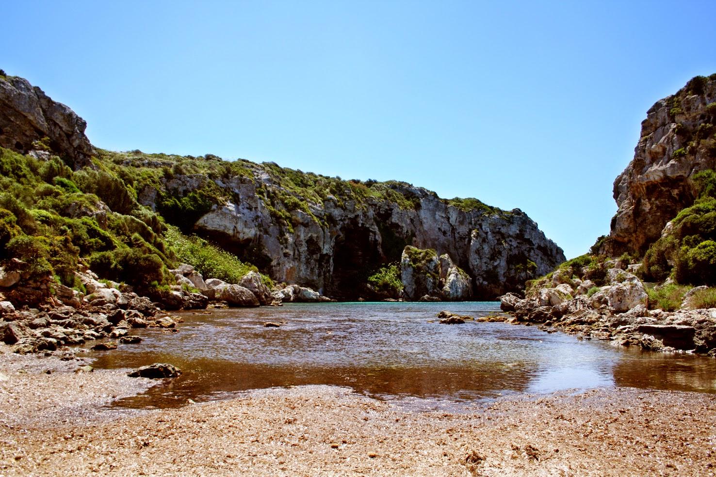 Foto playa Cales Coves.