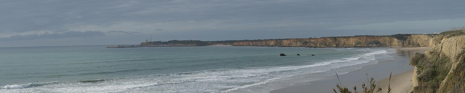 Foto playa Calas del Quinto y Camacho. ACANTILADOS DE CONIL