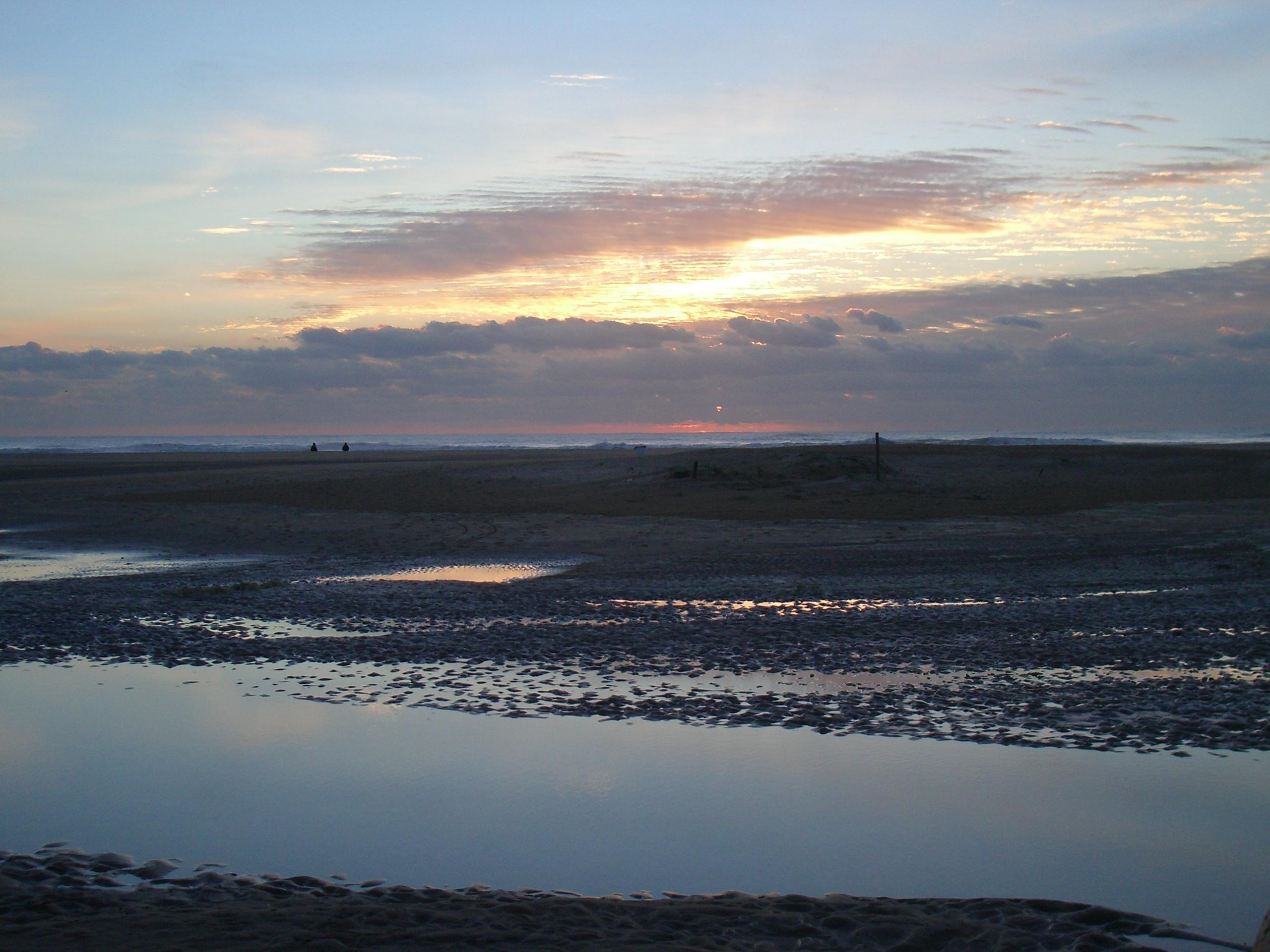 Foto playa Cala del Aceite. Atardecer en Conil