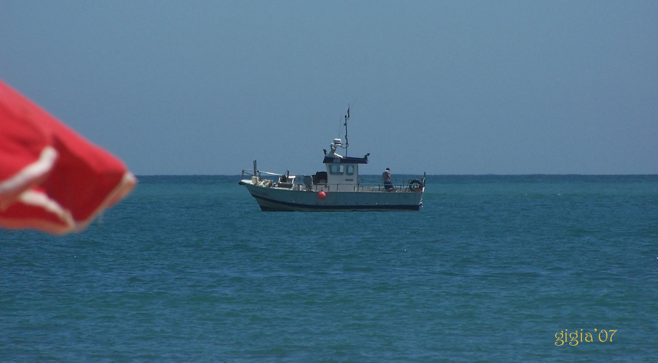 Foto playa Cala del Aceite. ...De pesca.