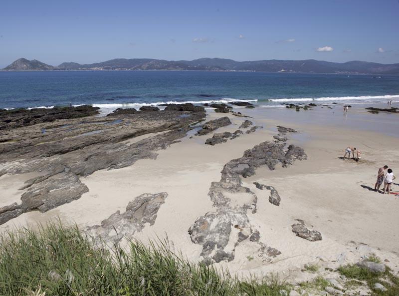 Foto playa Arnela A Vella.