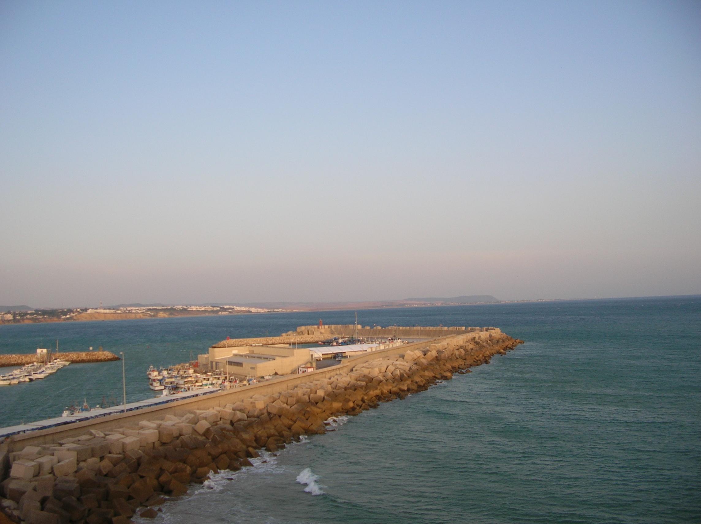 Foto playa Cala del Aceite. Puerto de Conil