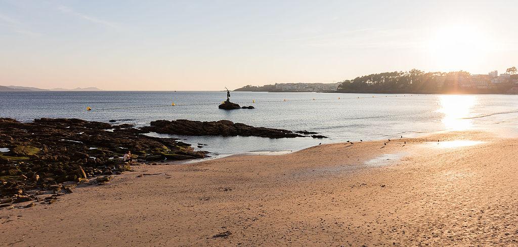Foto playa A Lamiña.