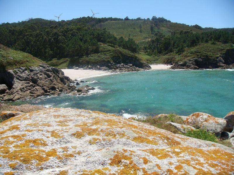 Foto playa Mougás.