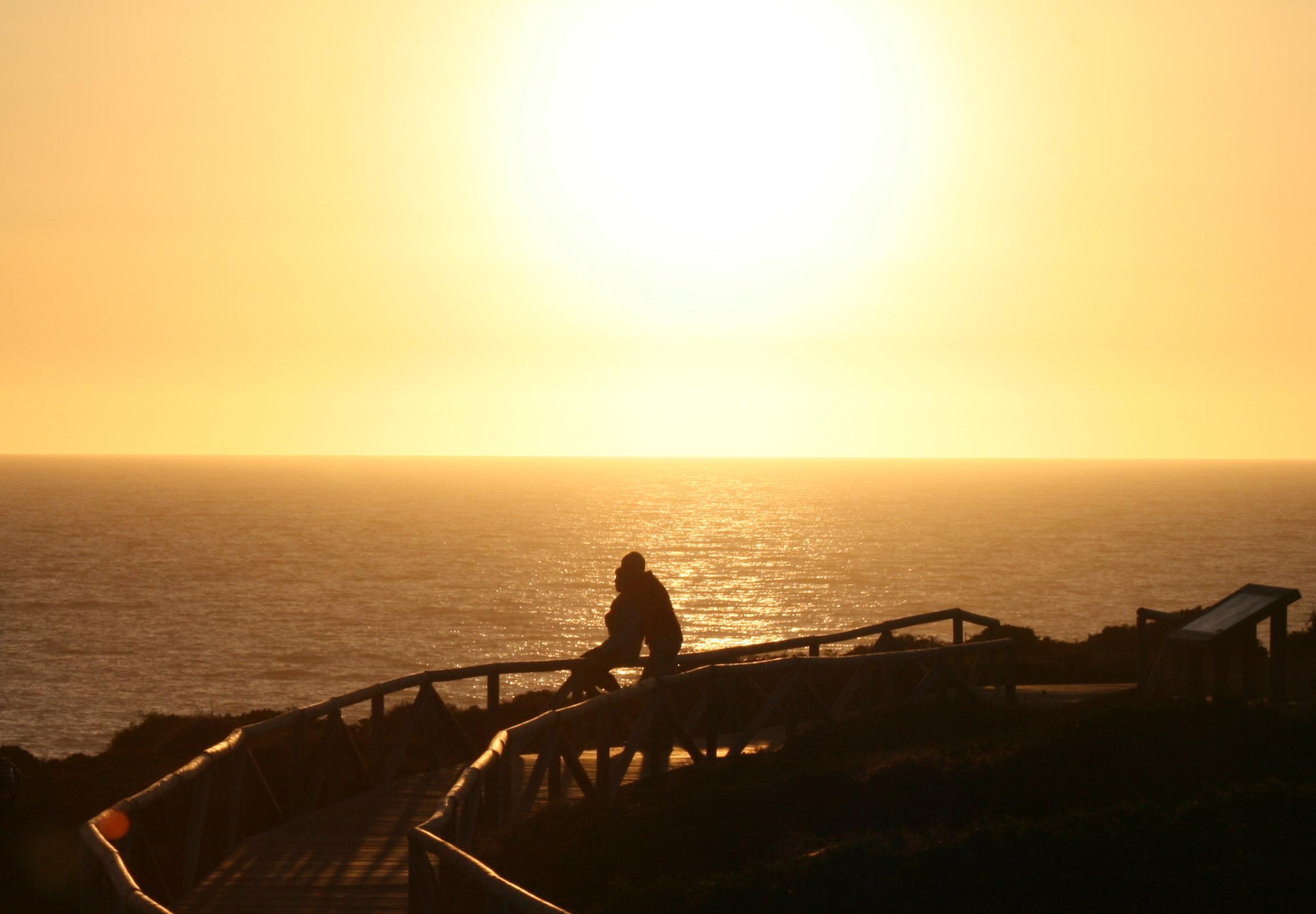 Foto playa Calas de Poniente. Amor bajo el sol poniente, Cabo Roche