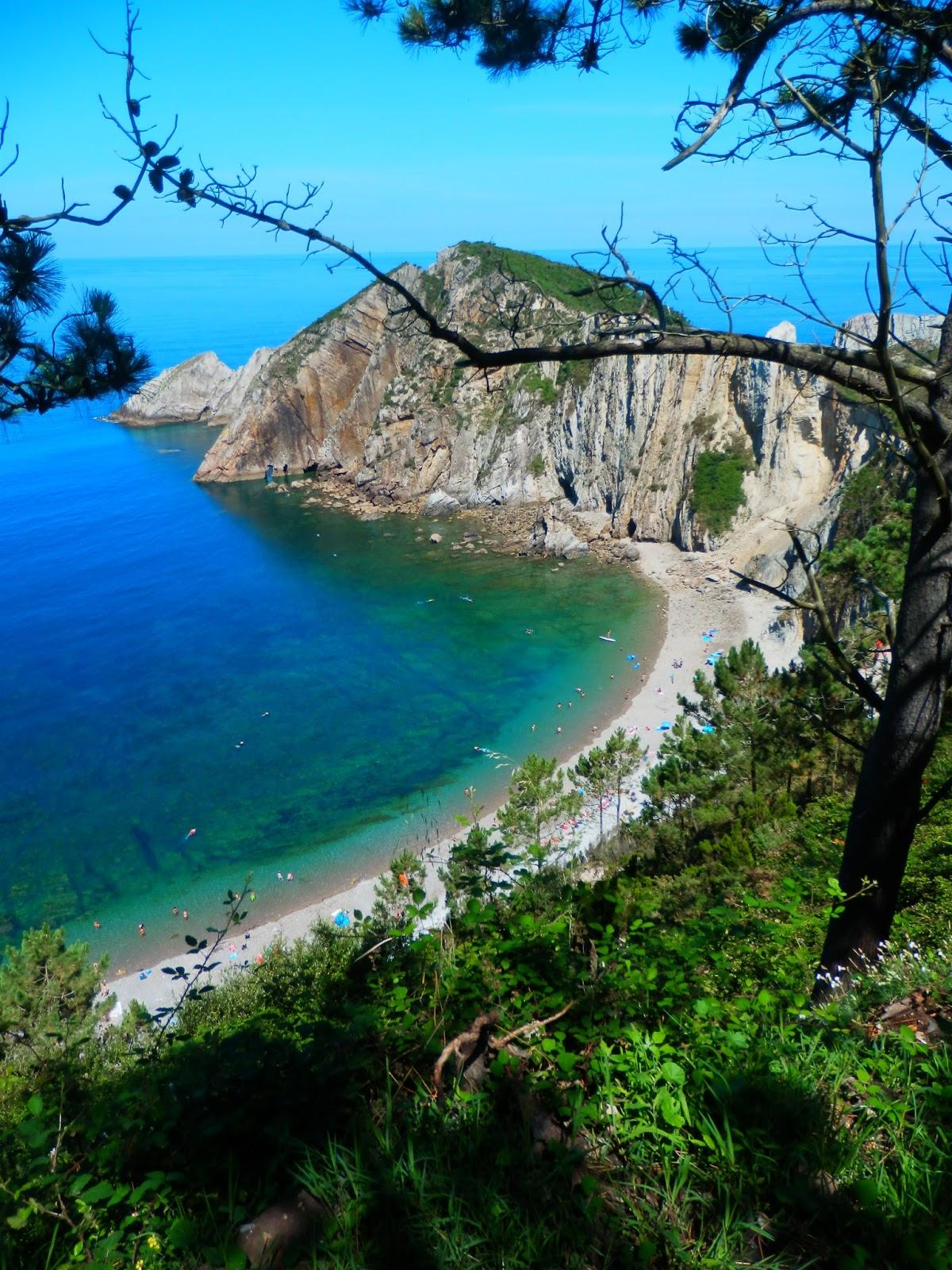 Foto playa O Cristo / Mosqueira.