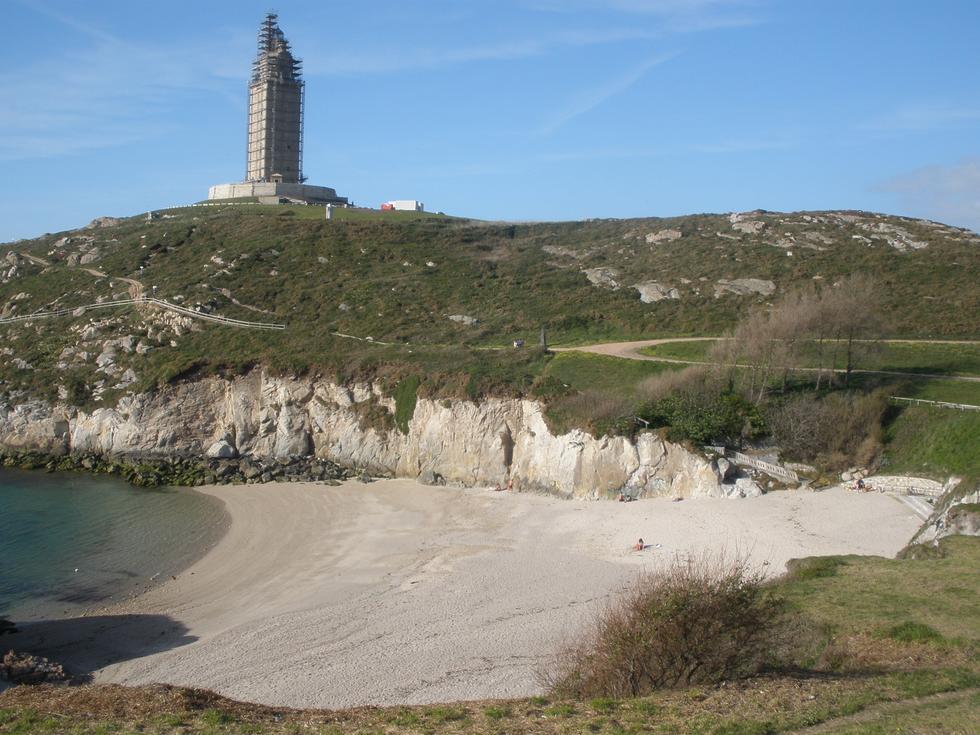 Foto playa Do Caeiro.