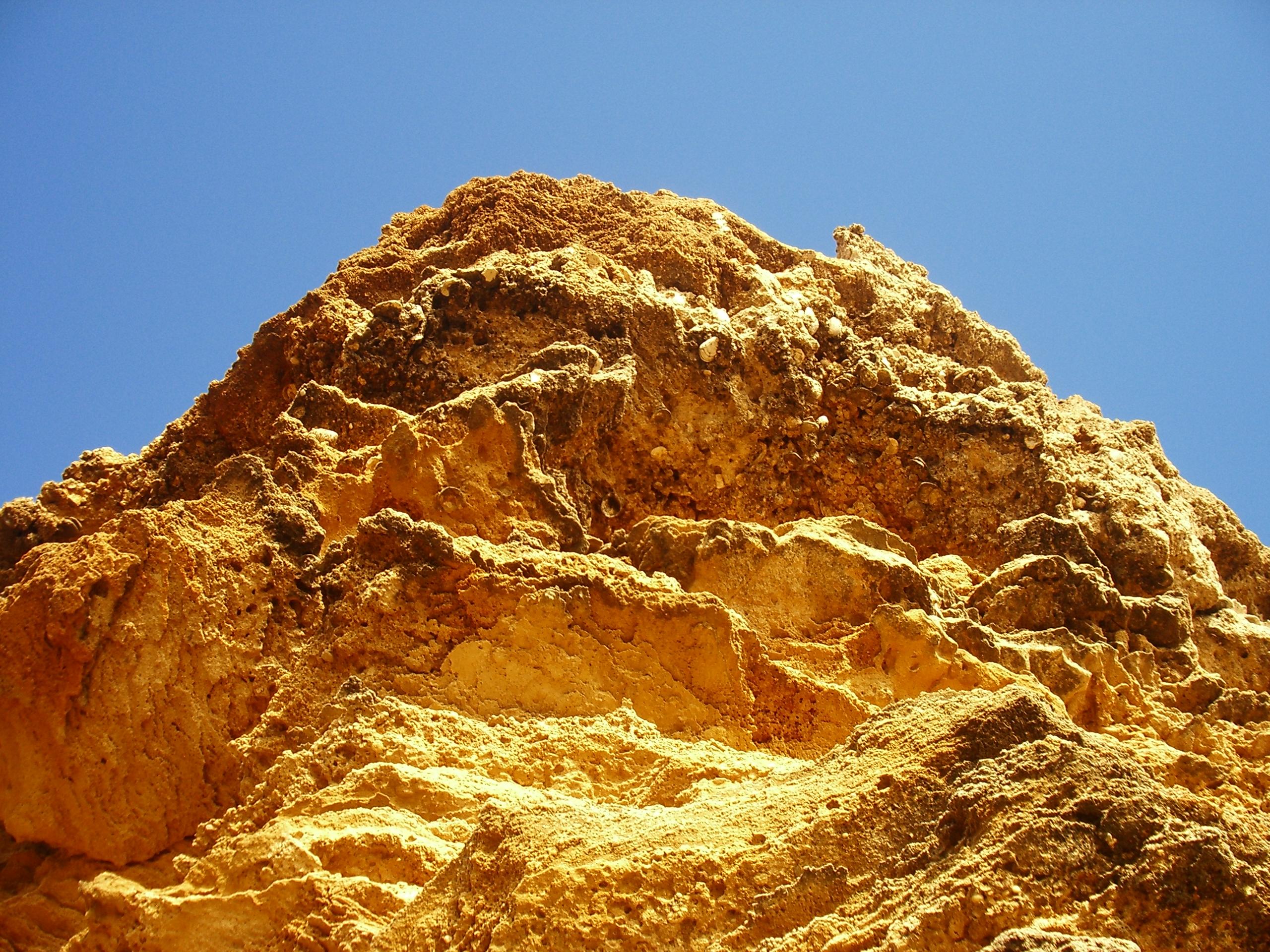 Foto playa El Puerco / La loma del puerco. Â¿A que parece oro?