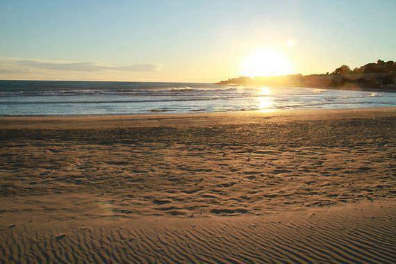 Foto playa Bornal.