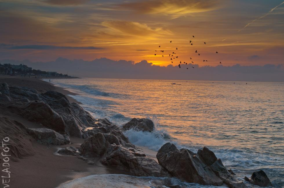 Foto playa El Morer.