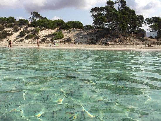Foto playa Sant Jordi / Platja d´en jordi.