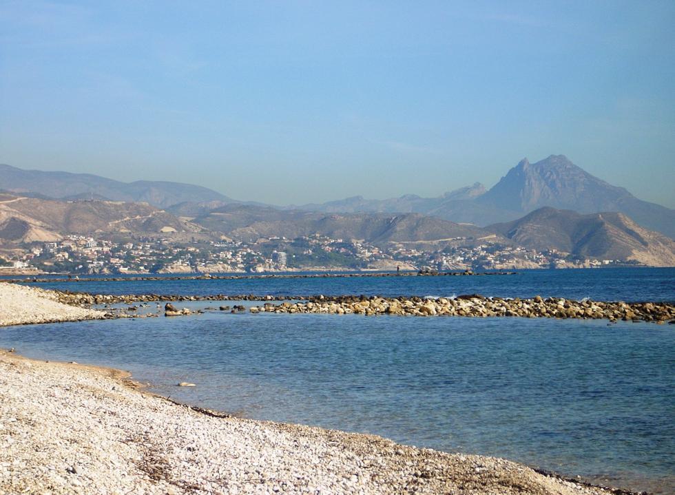 Foto playa Punta del Riu.